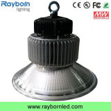 150W Meanwell 110lm/W Industrial Workshop Lamp DEL High Bay Light