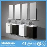 Modern Wood MDF Hotel Wall Hung Meubles de salle de bains avec armoire de rangement (BF142F)