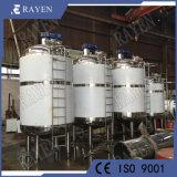 Medidas sanitárias cubas de aço inoxidável do tanque de aquecimento do tanque de refrigeração