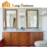 Из вишневого дерева и шпона ванной туалетный столик с искусственным кухонном столе (фунт-AL2082)