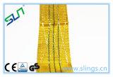 La nuova tessitura del poliestere da 3 tonnellate 2017 lancia il codice di colore del colore giallo per frustare