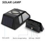 Angeschaltene Sicherheits-Licht-Garten-Wand-Solarlampe