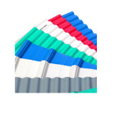 La couleur en acier ondulé galvanisé recouvert de tuiles de toiture