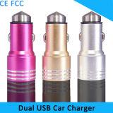 Дешевые оптовые красочные два порта USB Mini автомобильное зарядное устройство