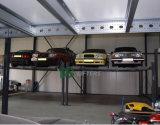 Gg 상표 세륨 4개의 주차 공간을%s 가진 유압 4 포스트 차 자동 차량 주차 상승 4 톤