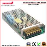 48V 2.5A 120W Alimentation par commutation Ce Certification RoHS S-120-48