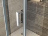 8 mm de alta qualidade em Vidro Temperado Banho Ajustável Deslizando Cabina de Duche