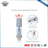 2-10 MOD elettronico di ceramica registrabile di Vape della sigaretta del serbatoio di vetro delle bobine 290mAh dell'intervallo di wattaggio
