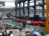 Cilindro hidráulico telescópico das unidades da energia hidráulica dos reboques da floresta da maquinaria agricultural