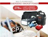 100W 278Wh Energía Solar de Alta Capacidad de copia de seguridad de emergencia del sistema de alimentación para CPAP