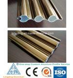 O alumínio de venda quente do preço de fábrica expulsou perfil para a porta de alumínio
