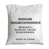 На заводе ISO Прямые поставки высококачественного Hexametaphosphate натрия SHMP 68% для обработки воды, текстильной моющим средством