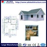 Une bonne structure légère en acier préfabriqué conçu pour la famille de la chambre