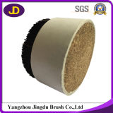 Black, White Hard Bristle Hair for Brush