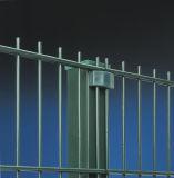Cerca revestida 868 656 da alta segurança da cerca do pó dobro do fio que cerc