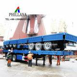 Flachbett-Schlussteil des seitliche Wand-entfernbarer Behälter-Ladung-Transport-LKW-halb 40FT
