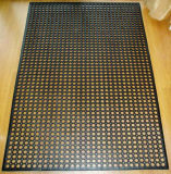 ホテルのゴム製マットまたは抗菌性の床のマットまたはスリップ防止台所マット