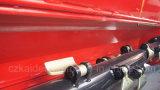 Capot arrière ouvert avec le rotor en spirale pour la faucheuse résistante de fléau
