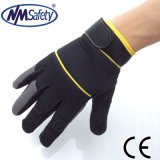 Перчатки механика синтетической кожи Nmsafety