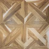 Настил древесины винила домочадца 8.3mm прокатанный ламинатом деревянный