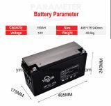 AGM VoorTerminal van de Batterij 12V150ah van het Lood verzegelde de Zure de Navulbare Batterij van de Macht
