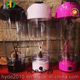La bouteille en plastique de vortex de la vente 600ml chaude portative, BPA libèrent la bouteille électrique en plastique de dispositif trembleur de protéine (HDP-0729)
