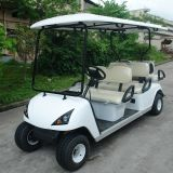 CE Approve 6 Seater Electric Golf Cart con il sedile posteriore (DG-C4+2)