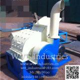 Hölzerne Schnitzel-Chip-Sägemehl-Block-Ladeplatten-Fuss-Block, der maschinelle Herstellung-Zeile Hersteller bildet