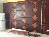 panneau de mur en cuir de l'unité centrale 3D pour la décoration à la maison