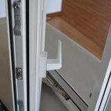 Guichet en aluminium de tissu pour rideaux de profil d'interruption thermique blanche de couleur de qualité avec le blocage multi K03022