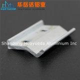 Profil en aluminium de fini de moulin pour la charnière de porte de charnière de guichet