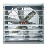 Ventilatore di scarico fissato al muro della Camera del pollame e della serra