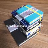 Качество индивидуального логотипа A5, A6 фиолетового цвета кожи планировщик органайзера ноутбуков дневника повестки дня