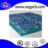 2-Imerision azul de Oro de la capa de máscara de soldadura PCB para MP4