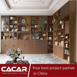 Ходкие живущий книжные полки древесины типа Милан шкафов комнаты
