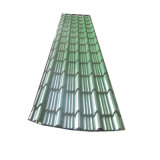 Folha de metal corrugado galvanizado coloridos PPGI painel do tecto