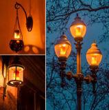 Светильник пламени светов СИД E27 E26 B22 E14 творческий
