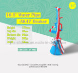 China caliente de Venta al por mayor forma de Rifle de silicona de colores el hábito de fumar los tubos de agua con el tazón de vidrio.