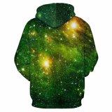шлямбуры космоса 3D с верхними частями печатание звезды женщин людей шлема с капюшоном