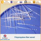 Polypropylene/PP de Vezel van de Golf voor Beton