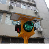 Trolly Signal Signal Mobile 200mm Portable Solar Traffic Light