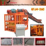 Qtj4-26cの販売のための半自動セメントの煉瓦ブロック機械