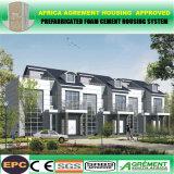 Casa Prefab modular pré-fabricada de aço da construção de aço da luz rápida da construção