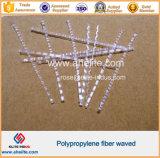 Macro de plástico polipropileno Fibra de onda