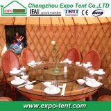 Гостиница монгольское деревянное Yurt с стеной стеклянного окна