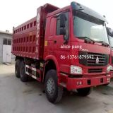 360HP Sinotruckの前部Lifting Dump Bucket Style 6*4貨物Delivery Used HOWO Heavy Truck