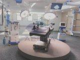 이동할 수 있는 운영 램프가 운영한 AG에 의하여 외과 병원 점화한다