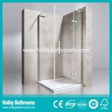 Aço inoxidável Hardware Alumínio à prova de água Barra de vidro temperado Ducha Door-Se707c
