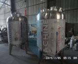 el tanque sanitario del enfriamiento de la leche de la granja de la extensión directa 2000liter