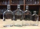 175ml/350ml de vlakke Fles van het Glas van de Wisky